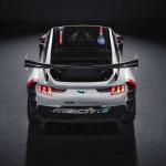 市販化も視野!? フォード「マスタング・マッハE 1400」世界初公開! 圧倒的な性能を誇るハードコアEVレーサー - ford-mustang-mach-e-1400-above-rear