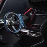 市販化も視野!? フォード「マスタング・マッハE 1400」世界初公開! 圧倒的な性能を誇るハードコアEVレーサー - ford-mustang-mach-e-1400-drive-interior