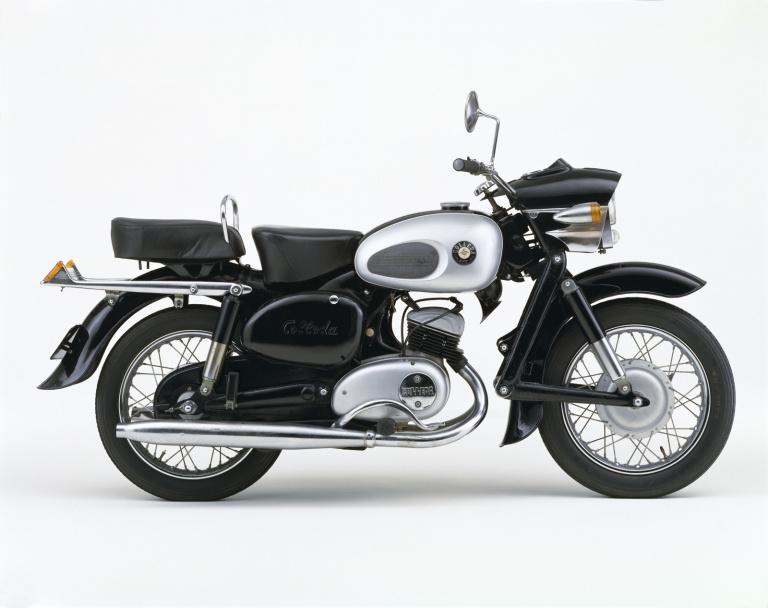 本格バイクのコレダ号COX