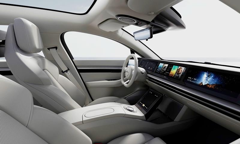 「SONYがEV「VISION-S」を国内で初公開。今年度内に公道評価を実施、SUV開発も視野」の2枚目の画像