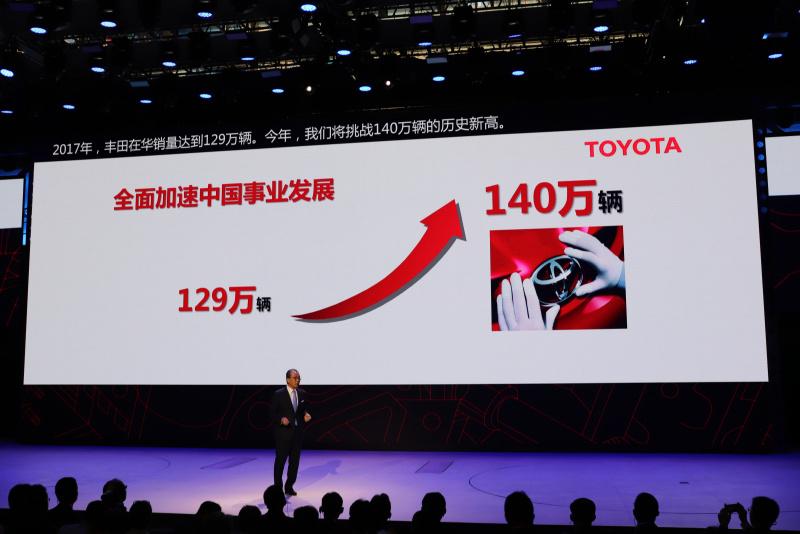 2018年北京モーターショートヨタブース