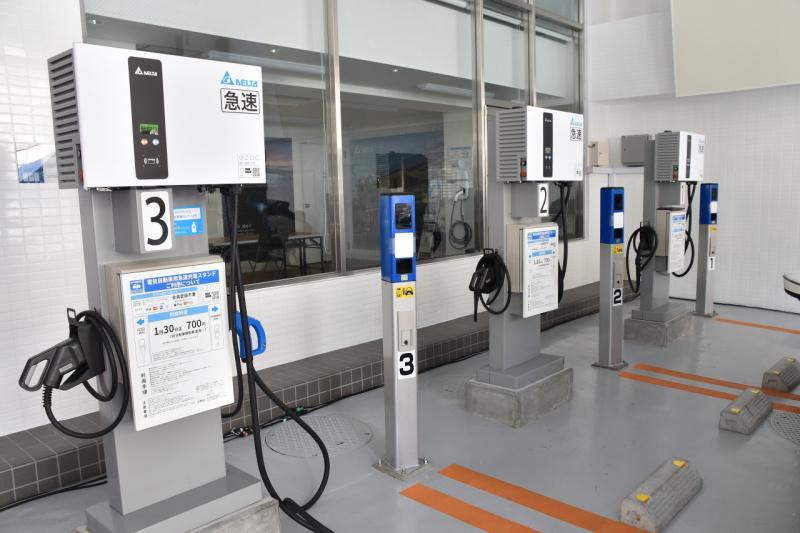 EV Charging Station充電スロット