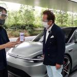 今一番気になる自動運転EV車「ソニーVISION-S」に清水和夫が大接近! コイツの可能性は無限大【SYE_X】 - kazuoshimizu_sonyvisions_09