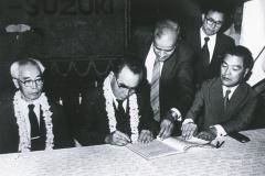 1982年10月2日_インド・マルチ社と正式調印