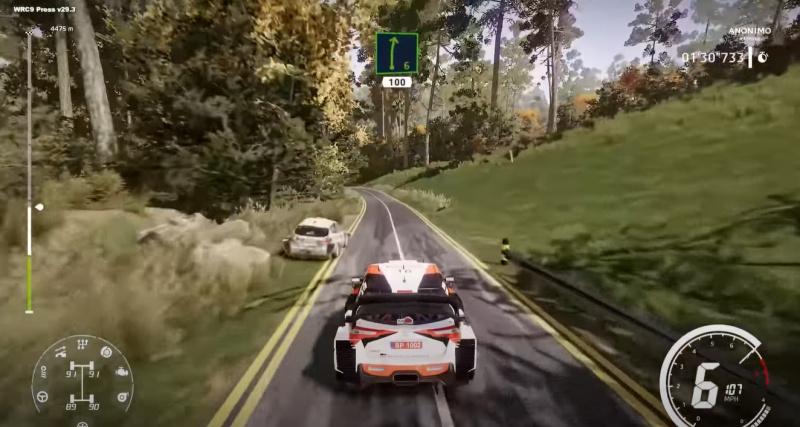 WRC 9 Japan GamePlay