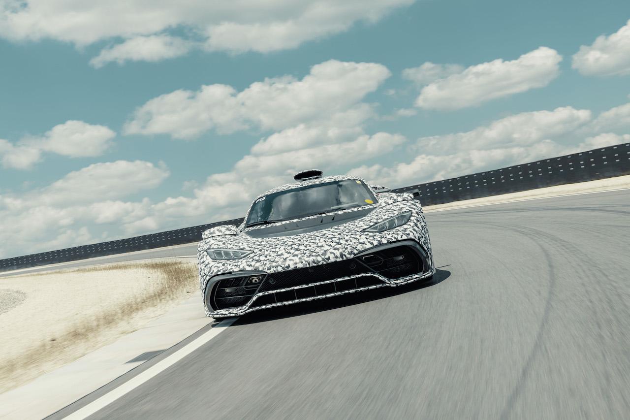 「メルセデスAMGが1000PSを超えるハイパーカーの「Project ONE」の開発を推進」の1枚目の画像