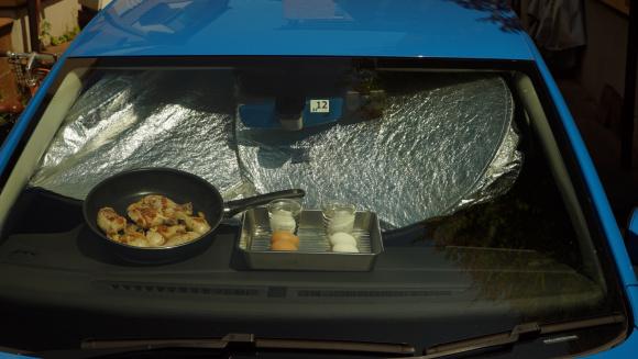 ダッシュボードで料理ができるか?