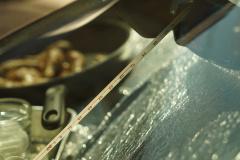 ダッシュボード上は70℃にまで上昇。