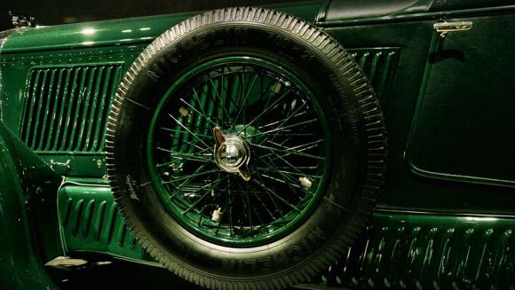 1930年式のベントレー スピード6