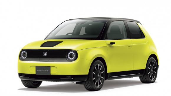 Honda e・アイキャッチ