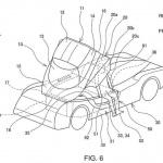 特許画像を入手。トヨタ初のハイパーカー「GR スーパースポーツ」、市販型にキャノピードア採用か!? - toyota-canopy-patent