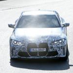 最新プロトタイプがニュル出現! ボディパネルが露出したBMW M4クーペ - BMW M4 2