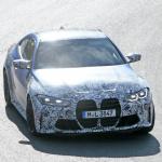 最新プロトタイプがニュル出現! ボディパネルが露出したBMW M4クーペ - BMW M4 3