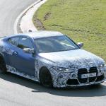 最新プロトタイプがニュル出現! ボディパネルが露出したBMW M4クーペ - BMW M4 4