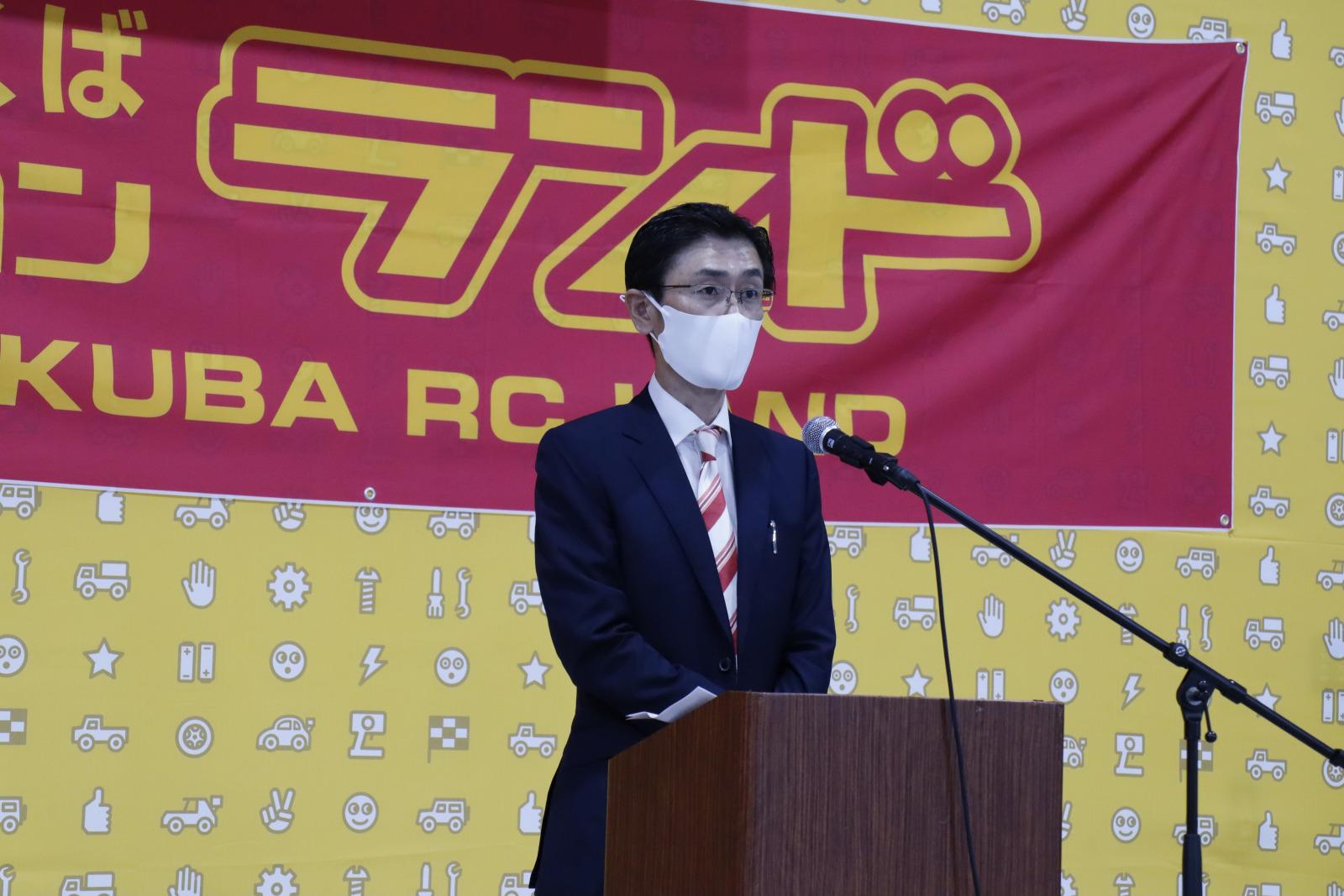 鈴木茂樹ヨコモ代表取締役社長。