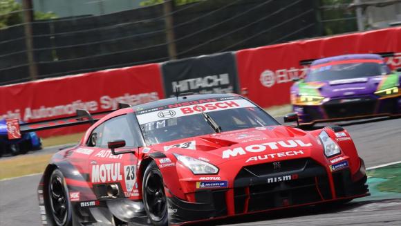 第3戦鈴鹿優勝のMOTUL AUTECH GT-R