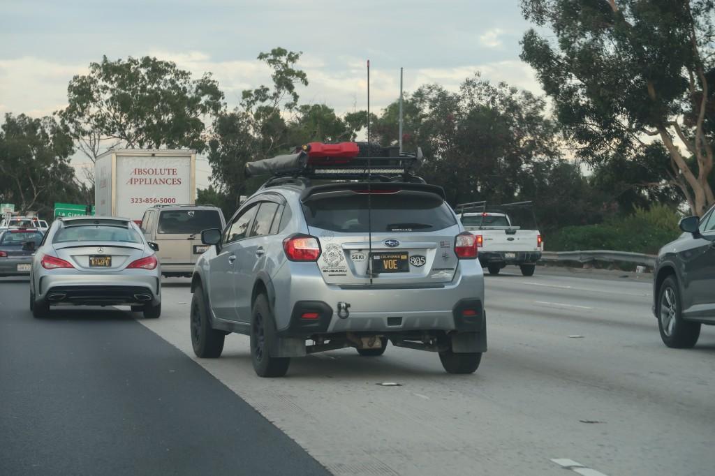 「車高も気分もアゲアゲ。カリフォルニアで見かけた珍しいSUBARU車カスタム・2選」の3枚目の画像