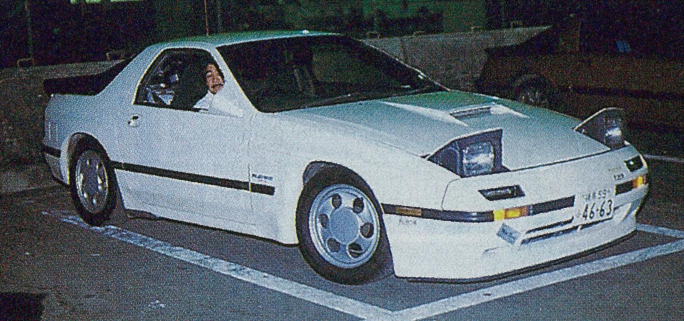 「車系YouTuberのハシリはRE雨宮・雨さんだった!?【OPTION 1987年10月号より】」の3枚目の画像
