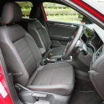 おしゃれな外観のVW T-Roc、内装は先進的ながら残念な点も【新型車インプレッション・内装編】 - T-ROCフロントシート