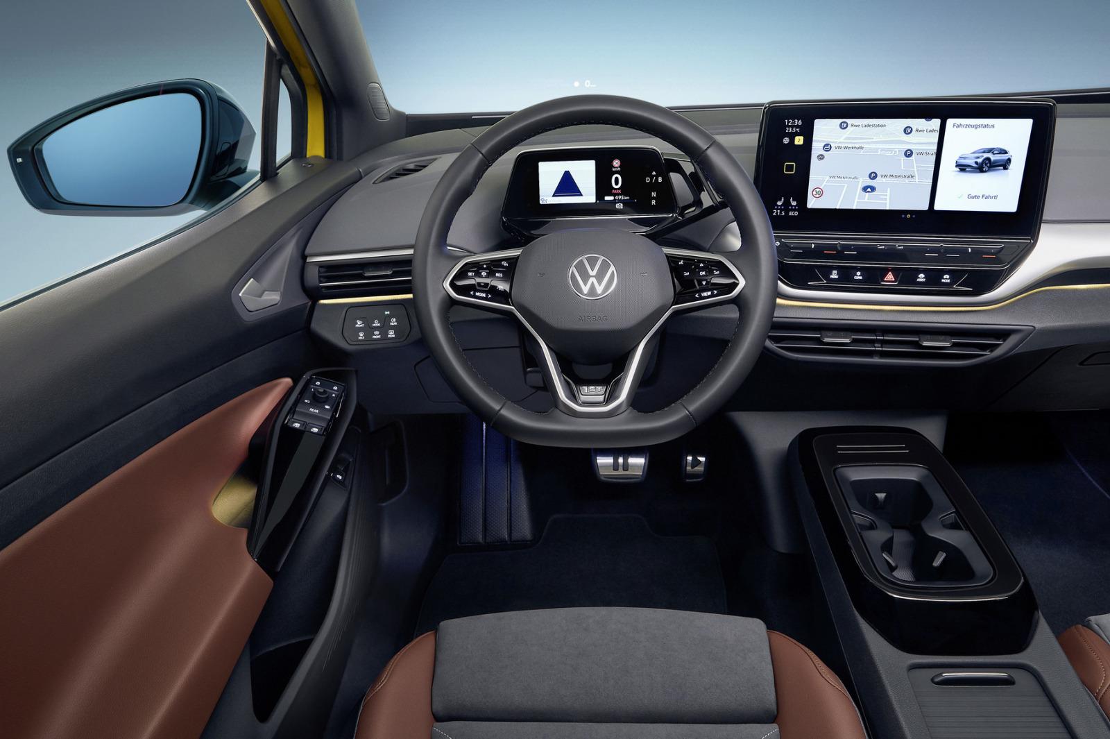 「フォルクスワーゲンのEV SUV「ID.4」が世界初公開。520kmの航続距離を誇るグローバルモデル」の5枚目の画像