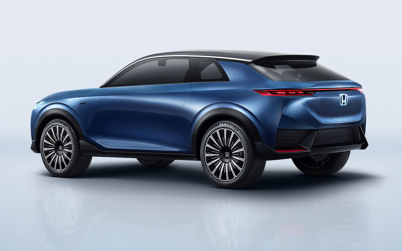 「ホンダがコンセプトモデル「Honda SUV e:concept」をワールドプレミア【北京モーターショー2020】」の4枚目の画像