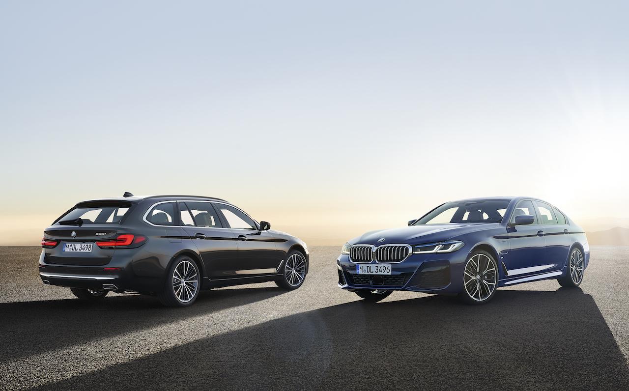 BMW 5シリーズが彫りの深い顔立ちに変身。iPhoneで車両のロック・アンロックが可能に【新車】