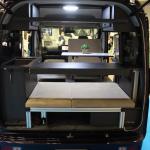 堅牢なアルミフレームの台座を使い、快適な寝心地を提供【最新キャンピングカー(軽キャンパー編)】 - campingcar_rakunerurest_20200930_8