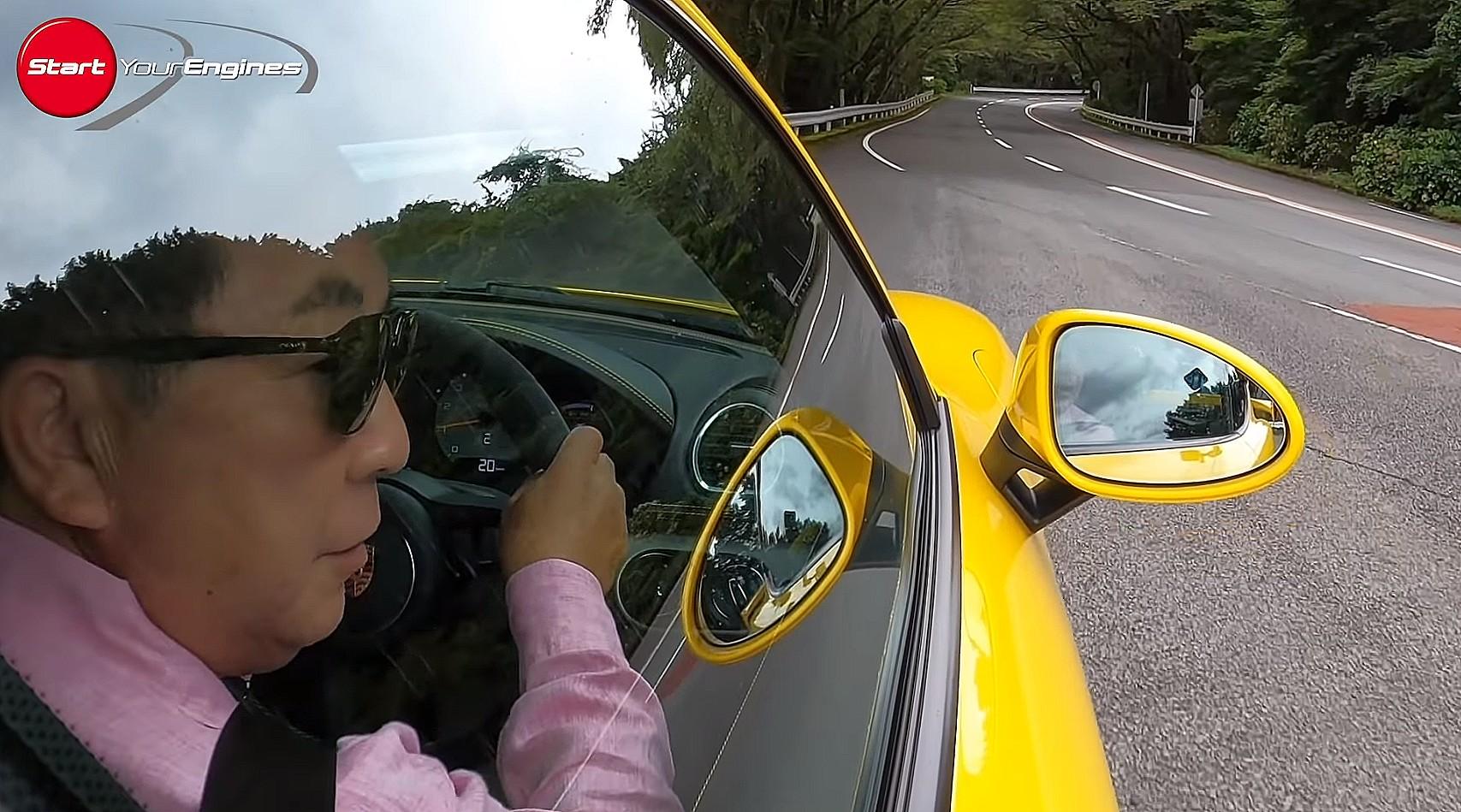 「清水和夫の好物全部乗せ! ポルシェ718ケイマンGT4は右ハン・MT・NA・MR・スポーツカー!!【頑固一徹 和】」の2枚目の画像