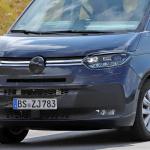 中まで丸見え! VW次世代バス「T7」、PHEVプロトをスクープ - Volkswagen T7 Multivan 16