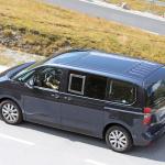 中まで丸見え! VW次世代バス「T7」、PHEVプロトをスクープ - Volkswagen T7 Multivan 30