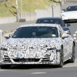 アウディ「e-tron GT」が年内ワールドプレミアへ! 兄弟ポルシェ・タイカンと共に出現 - Audi e-tron GT Nürburgring 15