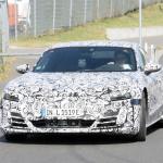 アウディ「e-tron GT」が年内ワールドプレミアへ! 兄弟ポルシェ・タイカンと共に出現 - Audi e-tron GT Nürburgring 17