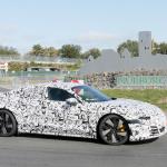 アウディ「e-tron GT」が年内ワールドプレミアへ! 兄弟ポルシェ・タイカンと共に出現 - Audi e-tron GT Nürburgring 20