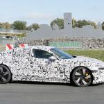 アウディ「e-tron GT」が年内ワールドプレミアへ! 兄弟ポルシェ・タイカンと共に出現 - Audi e-tron GT Nürburgring 21