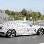 アウディ「e-tron GT」が年内ワールドプレミアへ! 兄弟ポルシェ・タイカンと共に出現 - Audi e-tron GT Nürburgring 22