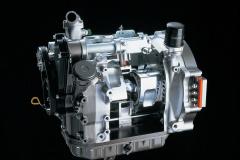 マツダ「HR-X」に搭載の水素燃料ロータリーエンジン(1991年)