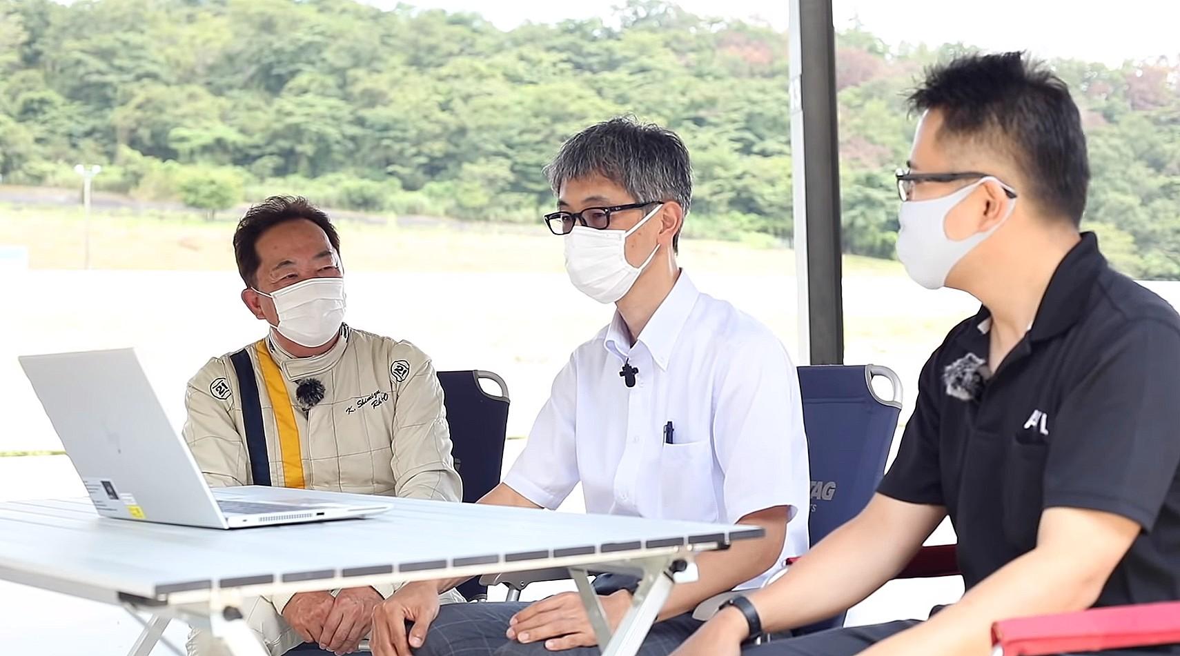 「トヨタ・ヤリスCVT・全日本ラリー参戦用清水和夫号の実走テストが始まった! エンジントルクを可視化できる解析機器とは?【SYE_X】」の4枚目の画像