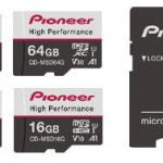 ドライブレコーダー向けmicroSDカードがパイオニアから発売。書き換えに強く耐久性に優れ、録画トラブルを防ぐ - Pioneer_microsdcard_20201012_1