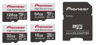 パイオニア マイクロSDメモリーカード