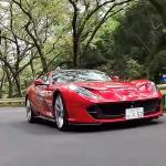 フェラーリ 812 スーパーファストを50km/hで走らせるのは清水和夫への拷問!?「V12・NAは完全バランス、ヤバイ!」【頑固一徹 和】 - kazuoshimizu_ferrari_812superfast_04