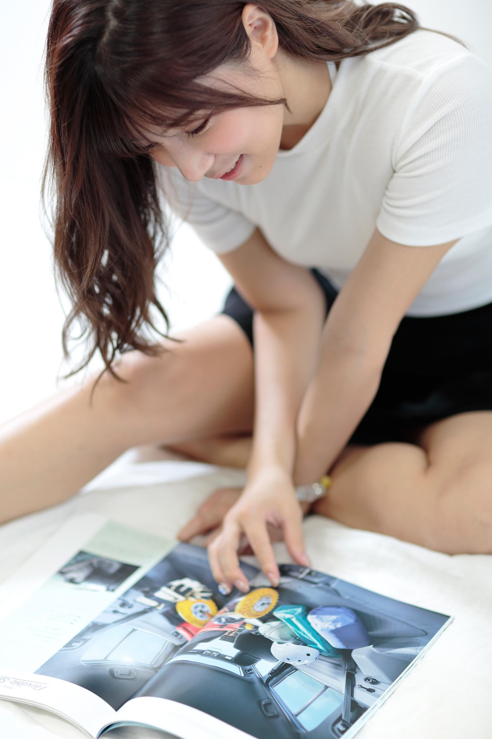 「「彼女」が選んだのは? 夏本あさみ✕ダイハツ・タフト+日産キックス【注目モデルでドライブデート!? Vol.46】」の5枚目の画像