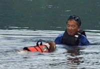 愛犬COCOちゃんと清水パパ