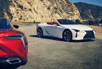 ブリヂストンが「TURANZA T005 RFT」「POTENZA S001L RFT」をレクサスLC500シリーズのOEタイヤとして納入を開始 - Lexus_LC500_Convertible_20201030