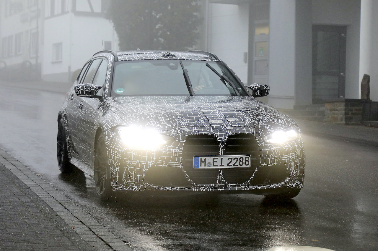 「2022年発売へ! BMW M3初のツーリング、最新プロトタイプをキャッチ」の1枚目の画像
