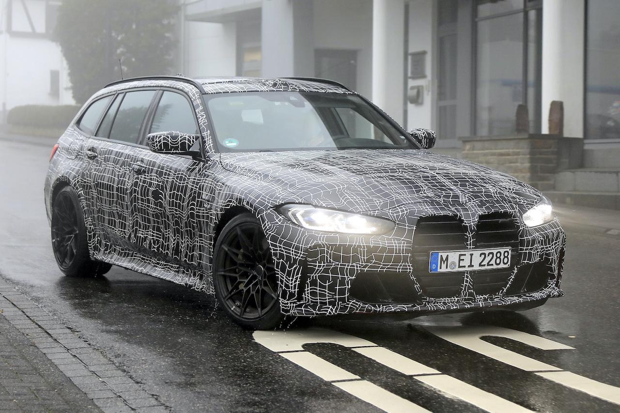 「2022年発売へ! BMW M3初のツーリング、最新プロトタイプをキャッチ」の2枚目の画像