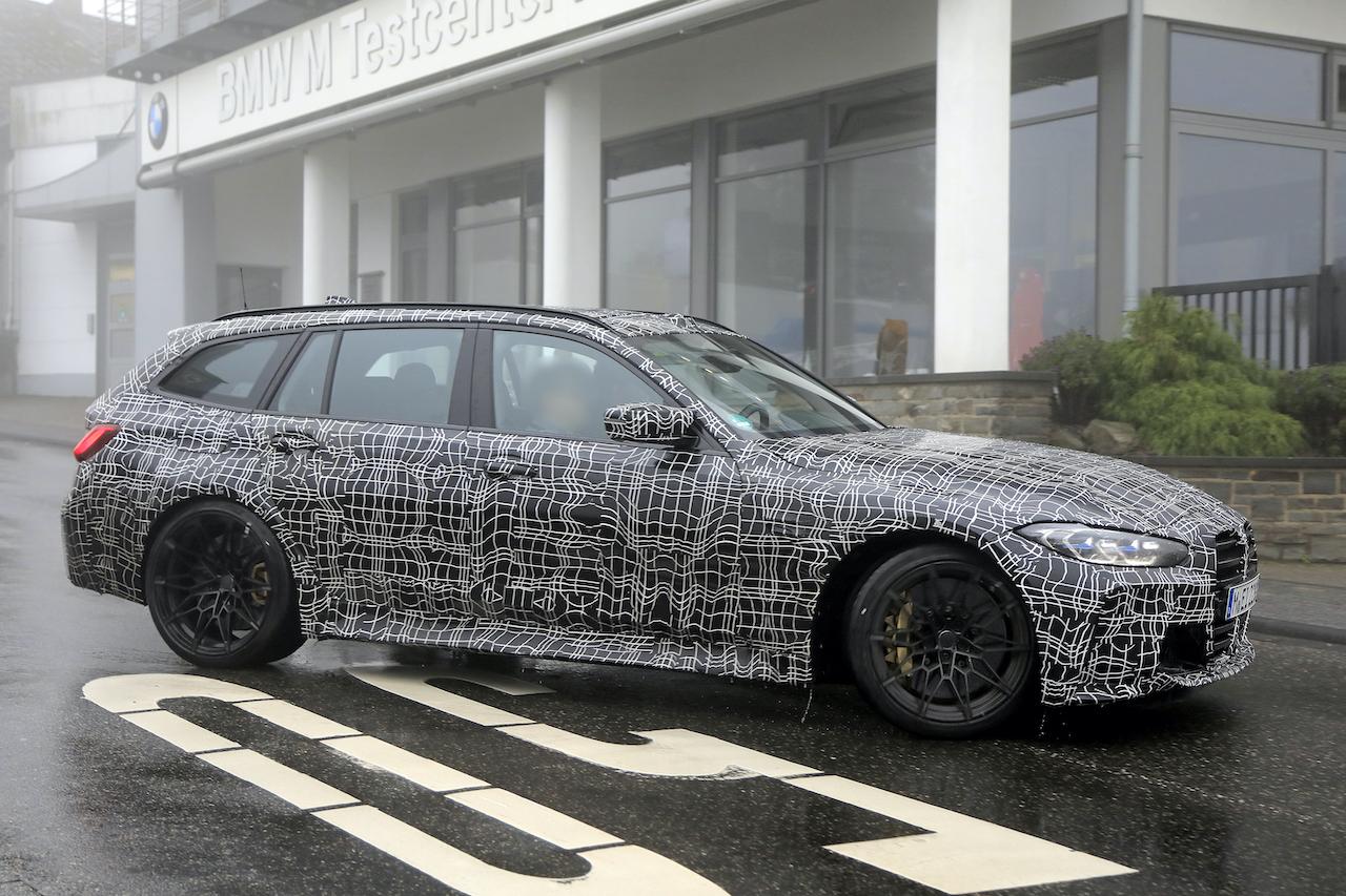 「2022年発売へ! BMW M3初のツーリング、最新プロトタイプをキャッチ」の4枚目の画像