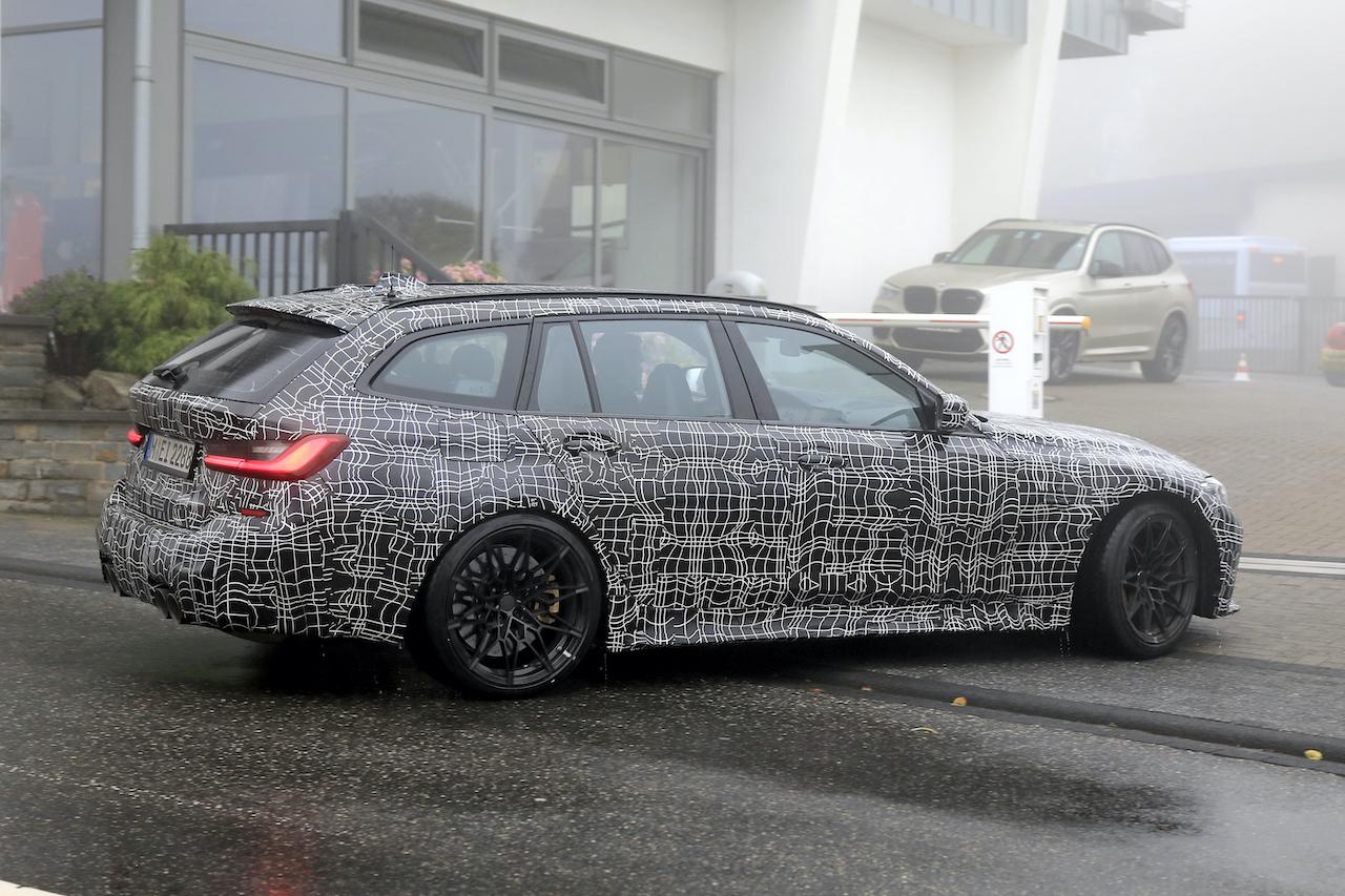 「2022年発売へ! BMW M3初のツーリング、最新プロトタイプをキャッチ」の6枚目の画像