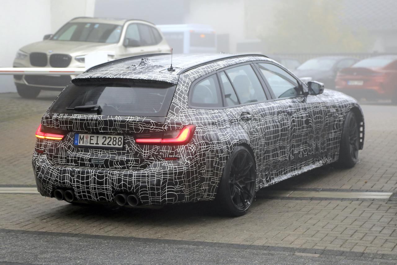 「2022年発売へ! BMW M3初のツーリング、最新プロトタイプをキャッチ」の8枚目の画像