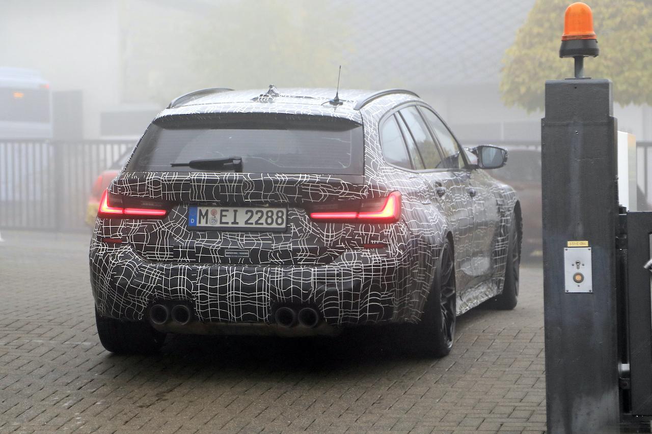 「2022年発売へ! BMW M3初のツーリング、最新プロトタイプをキャッチ」の10枚目の画像