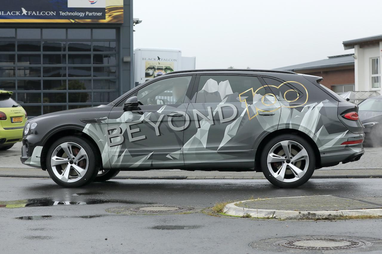 「「Beyond 100」戦略初のモデル、ベントレー・ベンテイガ「EWB」開発車両がテスト中!」の6枚目の画像